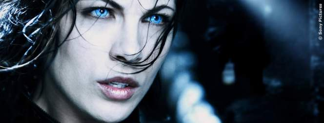 Kate Beckinsale als Vampirin Selene in Underworld