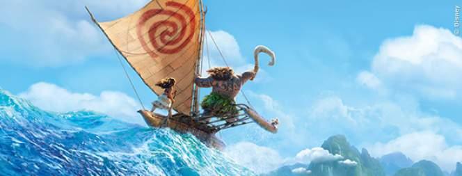 Vaiana: exklusives Bild aus dem Disney Weihnachtsfilm