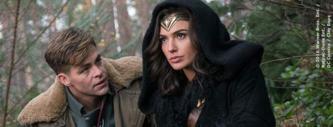 Chris Pine und Gal Gadot in Wonder Woman