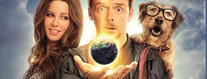Filmplakat zu Zufällig Allmächtig - Die schräge Komödie auf Blu-ray