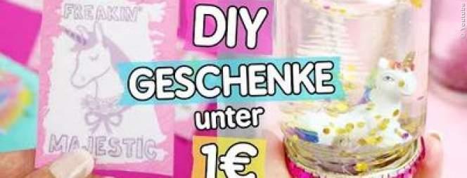 Weihnachtsgeschenke für unter ein Euro