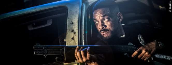 Cooler Ork-Polizist im neuen Film mit Will Smith