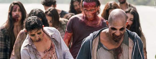 Vier The Walking Dead-Figuren in Fear The Walking Dead