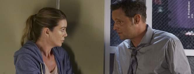 Meredith und Alex in der 13. Staffel Greys Anatomy