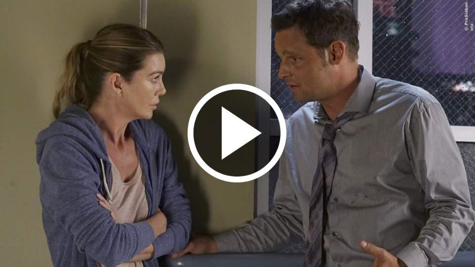 Greys Anatomy etwa ohne Alex - Start der 13. Staffel auf ProSieben ...
