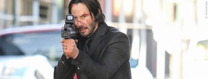John Wick 2: Keanu Reeves beim Schießtraining