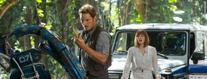 Jurassic World 2: Chris Pratt badet in Urin