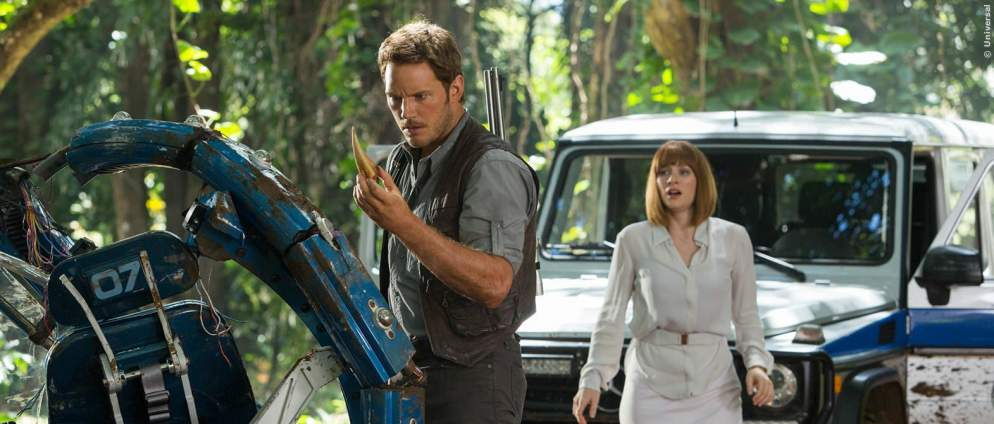 Jurassic World 2: Chris Pratt badet in Urin