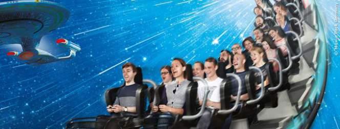 Star Trek Achterbahn: Neu in Deutschland