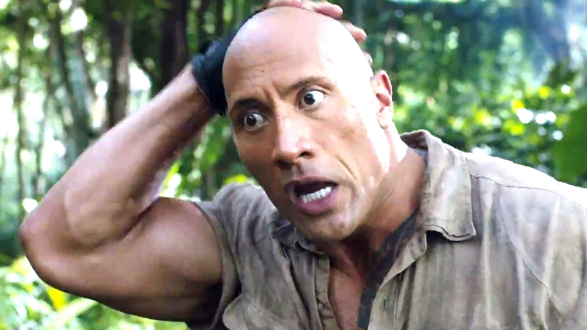 KINO-START: The Rock legt sich mit 'Jumanji 2' mit 'Star Wars' an