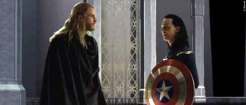"""Habt ihr Chris Hemsworths Cameo in der fünften Folge von """"Loki"""" bemerkt?"""
