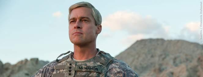 War Machine Trailer: Schwarzer Humor mit Brad Pitt