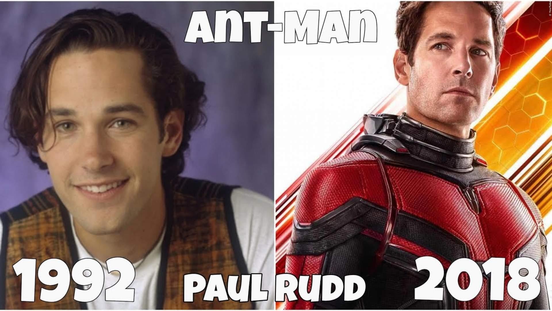 VIDEO: Die 'Ant-Man'-Stars früher und heute