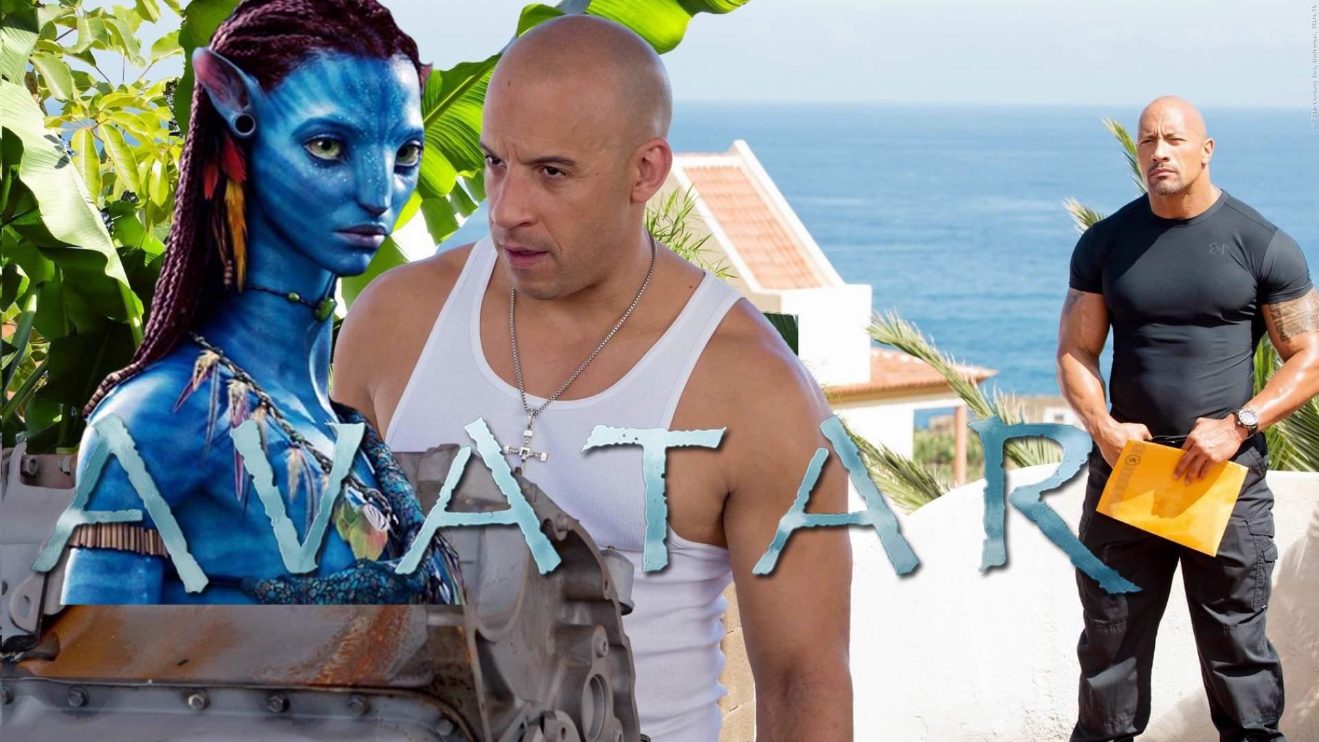 GENIAL: Star aus 'Fast & Furious' am Set von 'Avatar' gesichtet