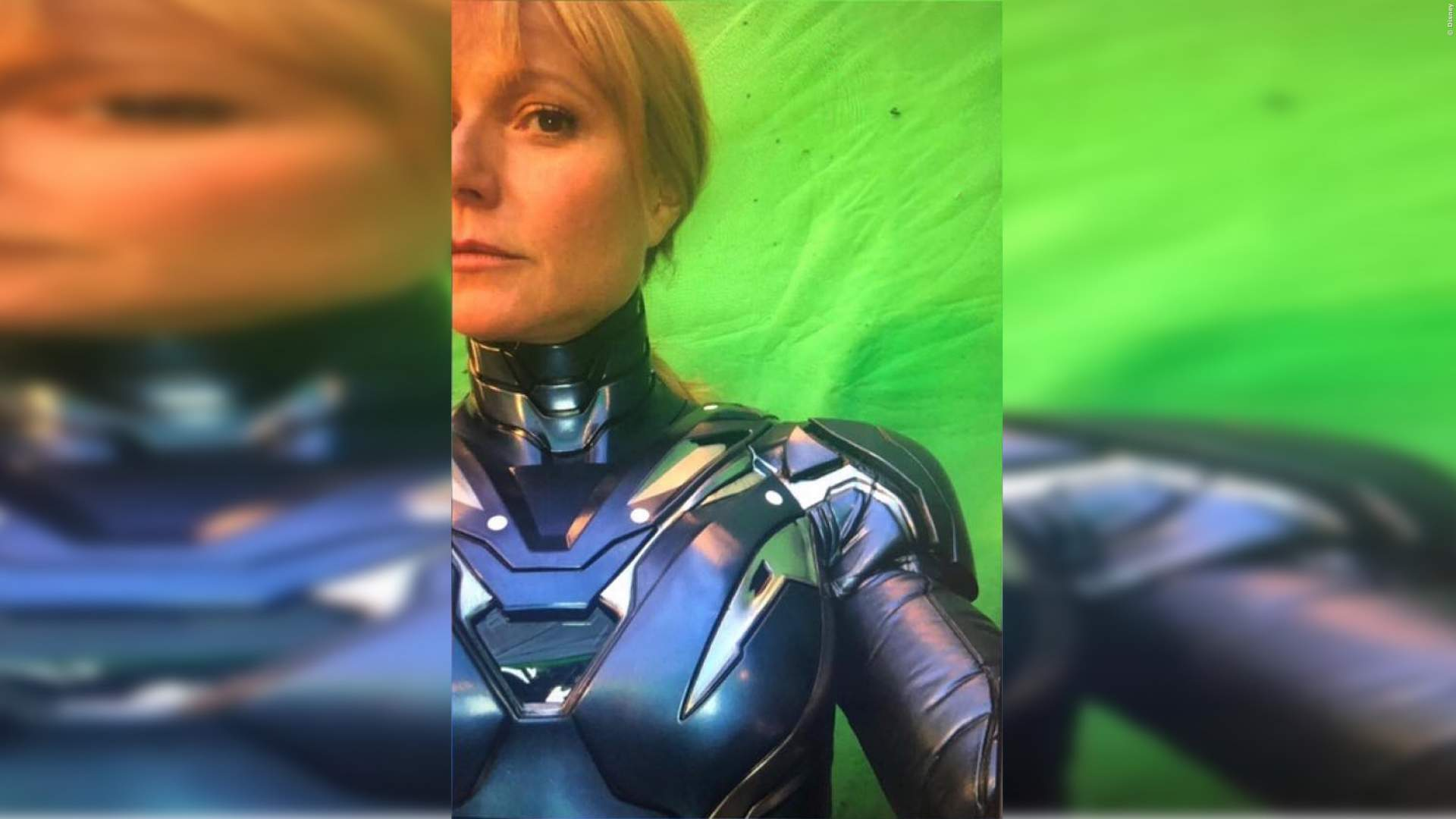 Pepper Potts als Rescue?