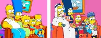 Serienfiguren die im Ausland anders aussehen
