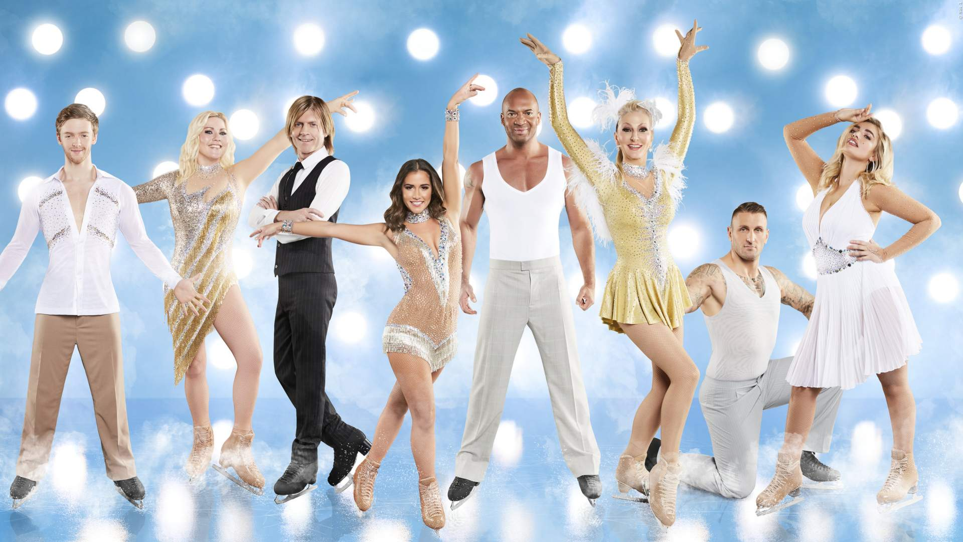 Die Stars im TV bei Dancing On Ice