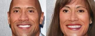Hollywood-Männer: So würden sie als Frauen aussehen