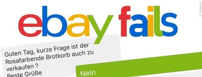 Lustig: Die schrägsten ebay-Chats