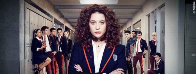 Marina und ihre Freunde in der Netflix-Serie Elite, FILM.TV