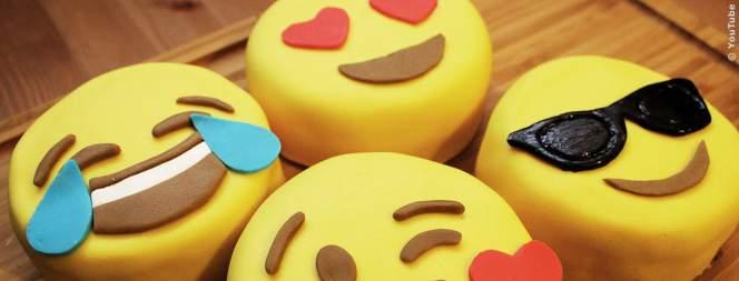 Leckere Emoji Kuchen backen - so wirds gemacht
