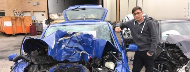 Unfallerfahrungen eines jungen Autofahrers