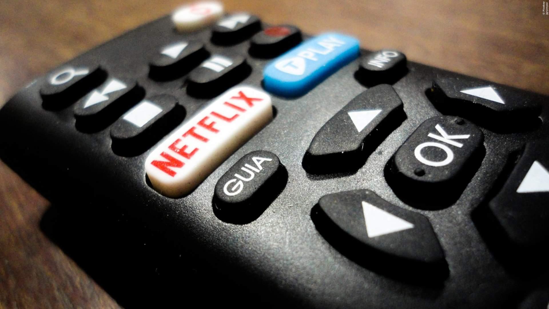 Netflix auf der Fernbedienung