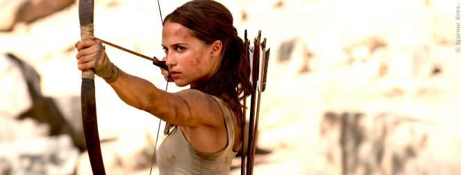 Tomb Raider Film: Neuer Trailer mit Lara Croft