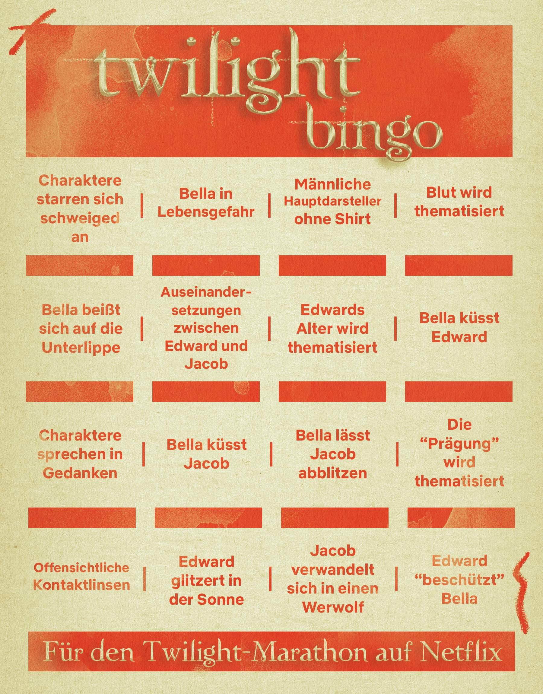 Twilight-Bingo