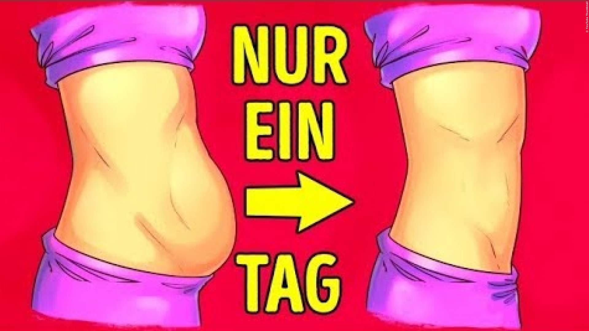 TRICK: Bauchfett verlieren in nur einer Nacht - Das kann jeder!