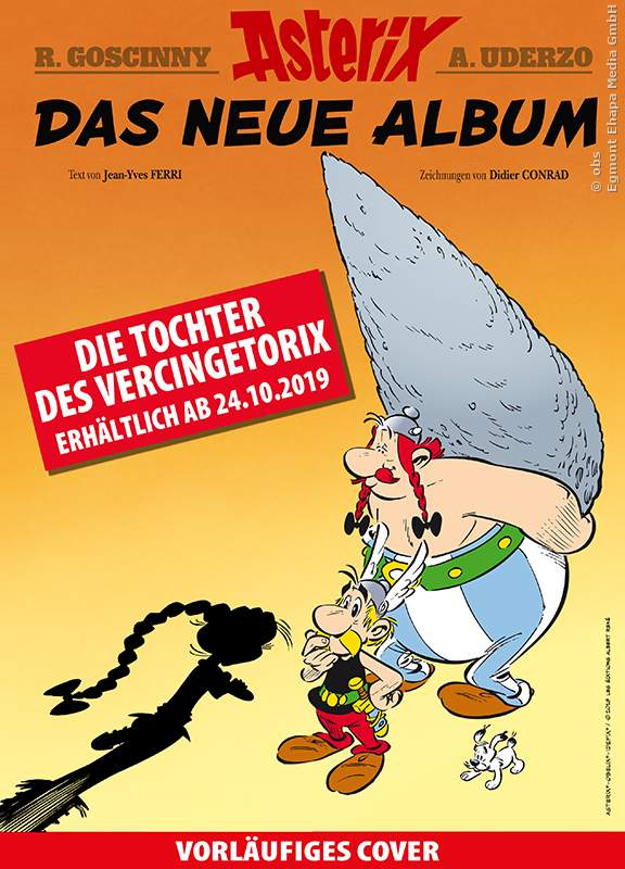 Asterix Band 38 Cover