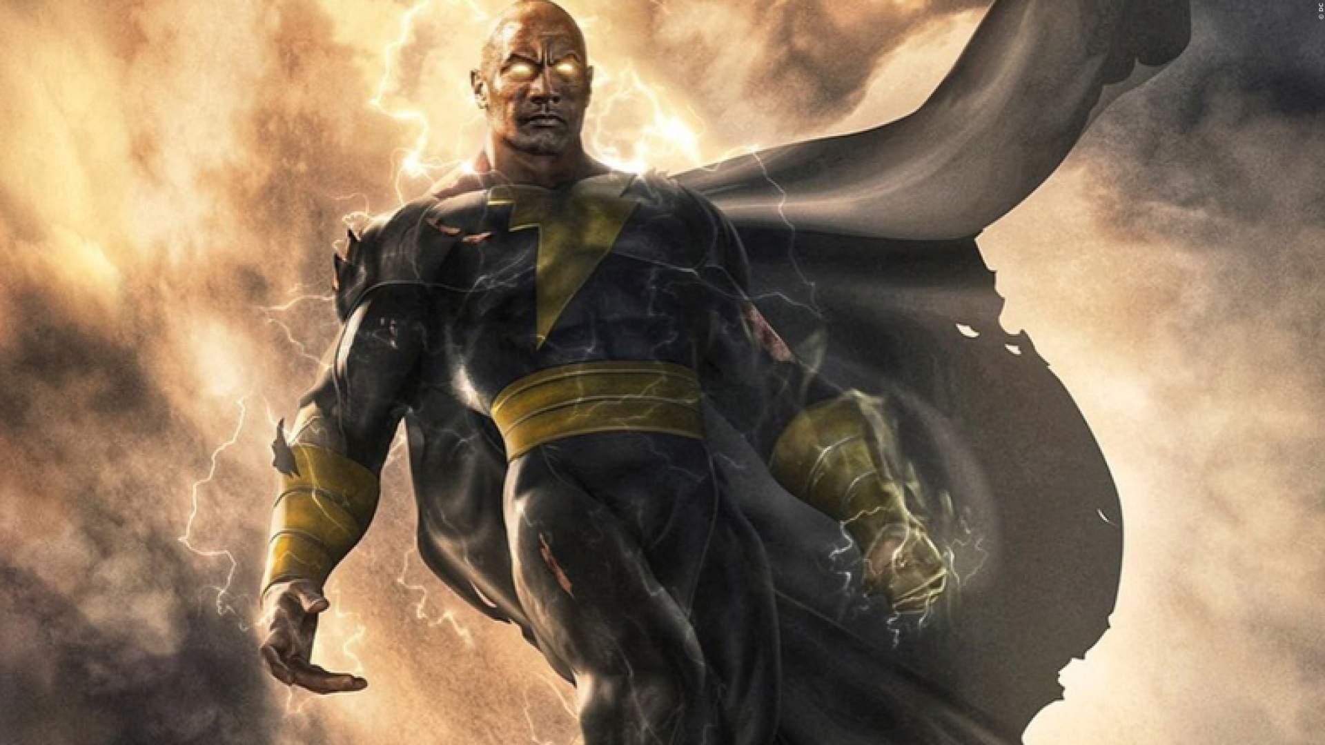 """Dwayne Johnson hat wohl zu wenig Muskeln für den DC-Film """"Black Adam""""."""