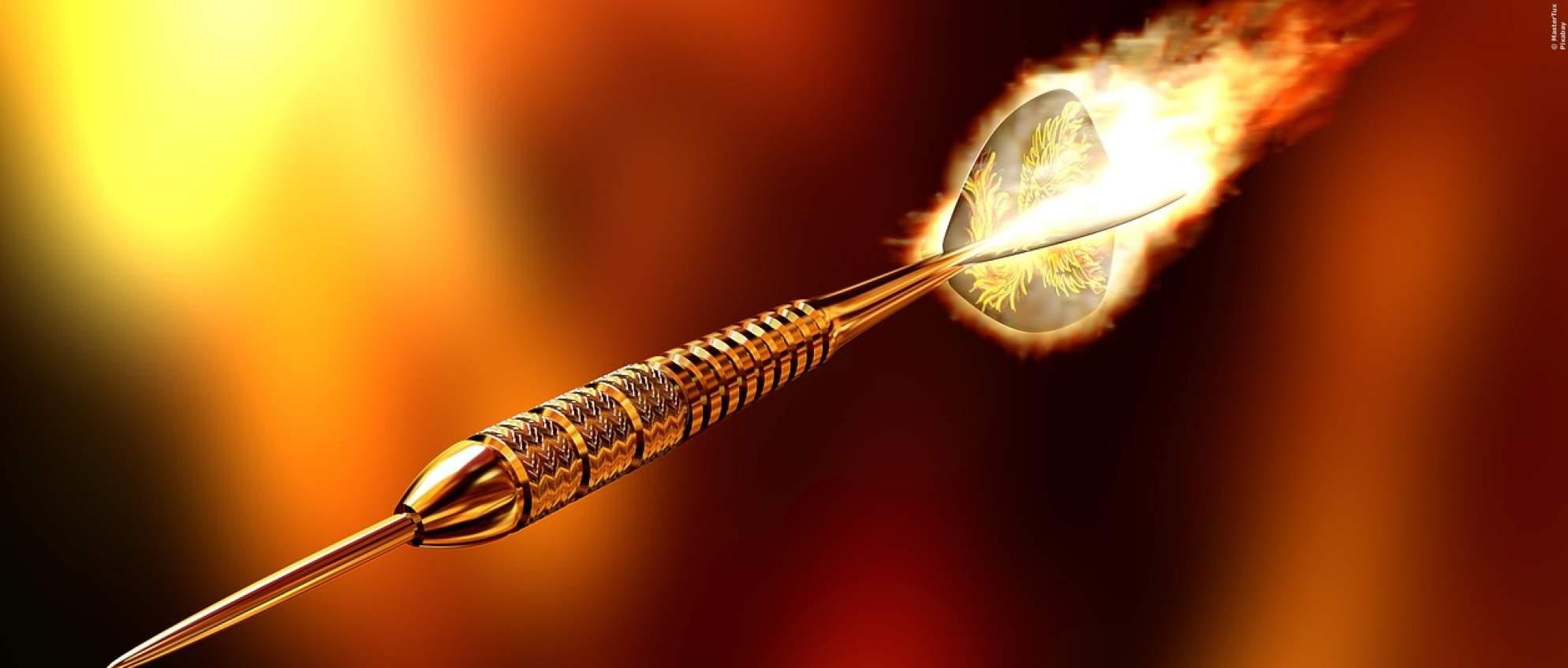 Dartpfeil - Symbolbild