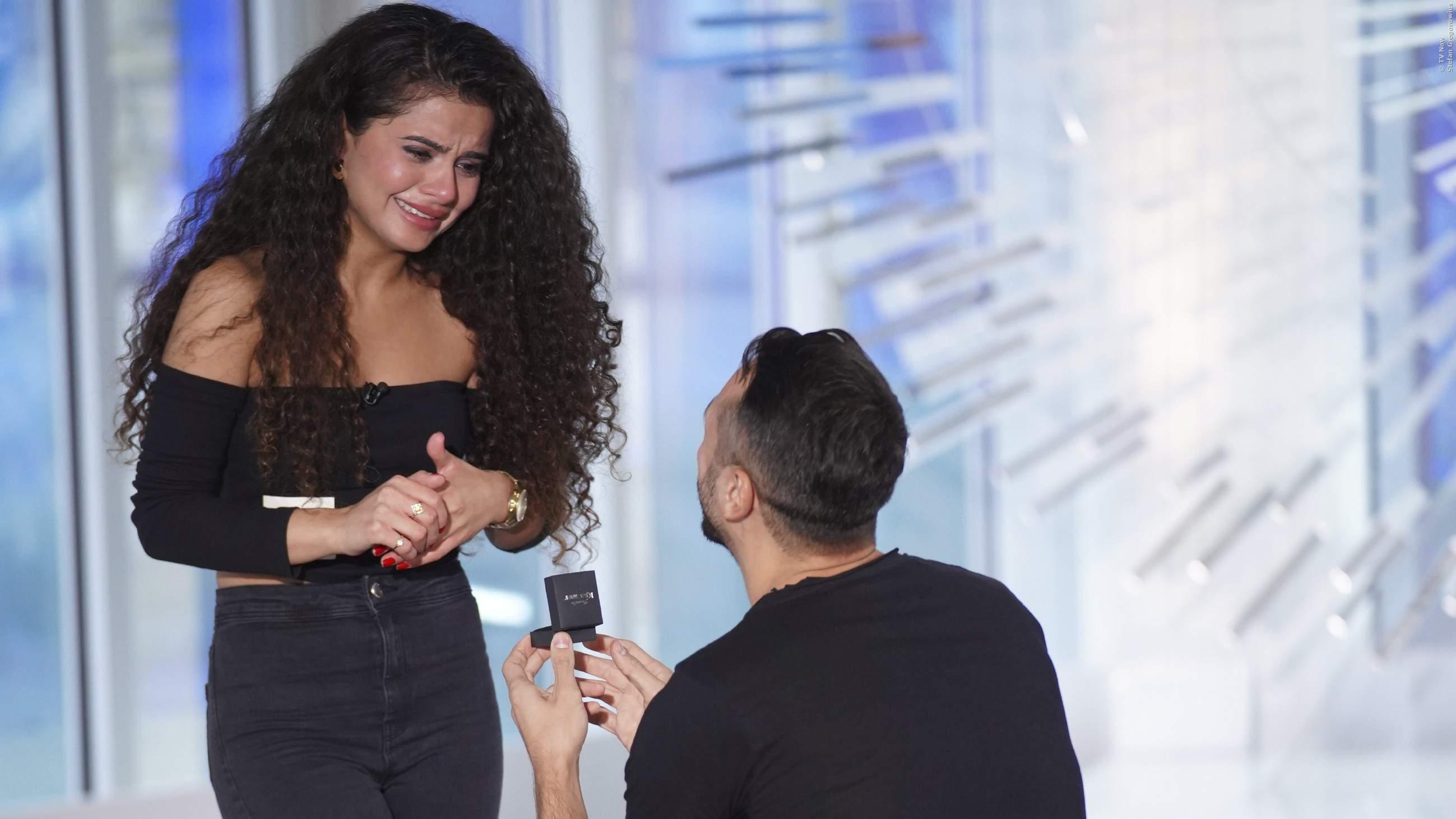 Der Heiratsantrag bei DSDS
