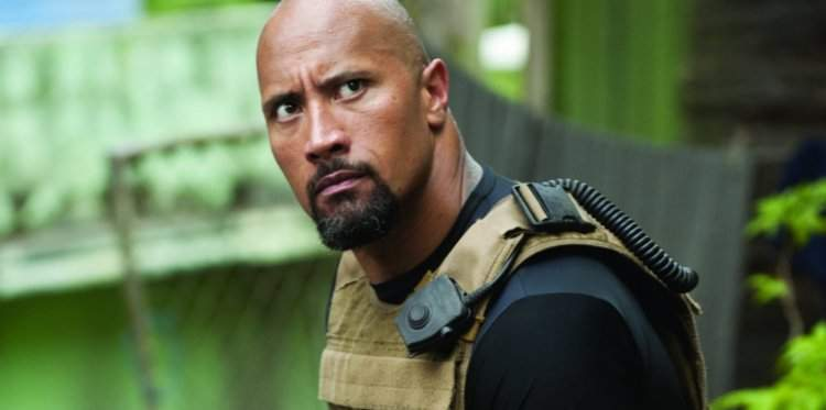 Dwayne Johnson in Fast & Furious