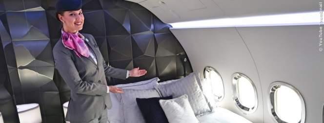 Luxus: So reist man im teuersten Business-Jet der Welt