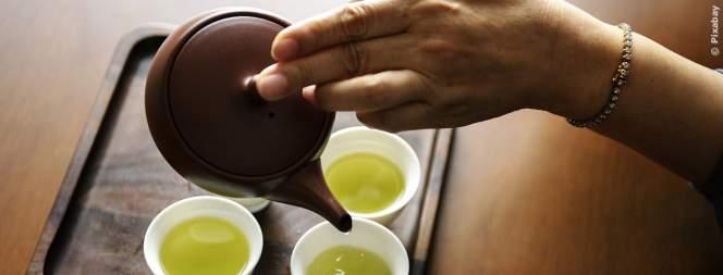 Das passiert, wenn du täglich grünen Tee trinkst