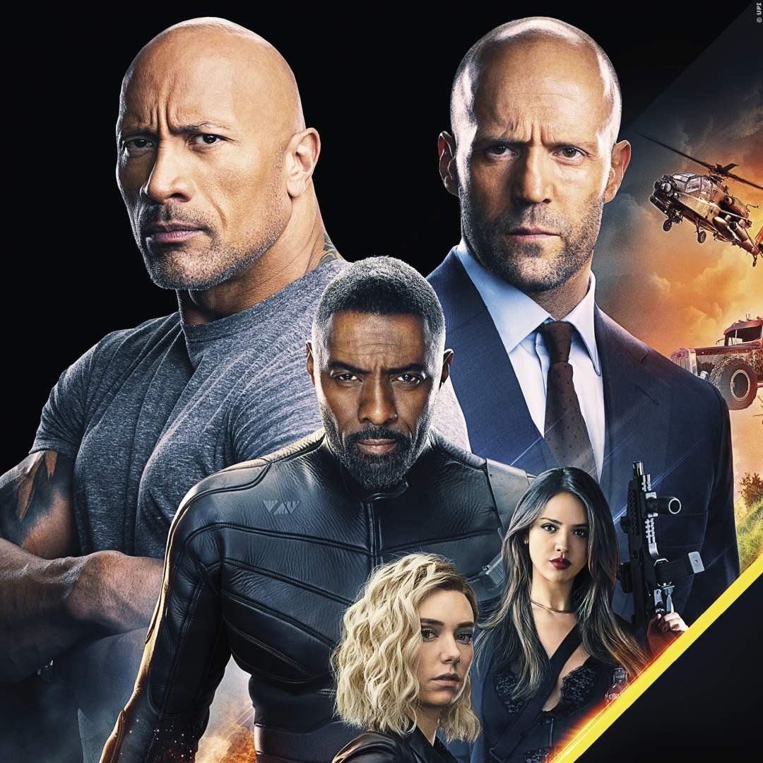 Fast & Furious: 'Hobbs und Shaw' - Hauptplakat zeigt explosive Auto-Action mit Feuerball