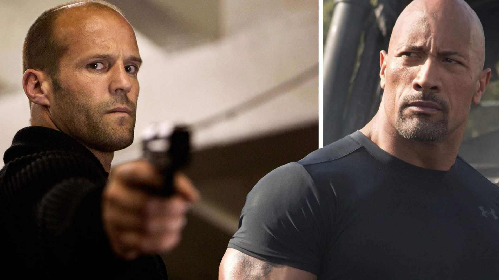 Jason Statham und Dwayne Johnson