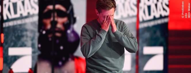 Klaas realisiert, dass ProSieben gewonnen hat