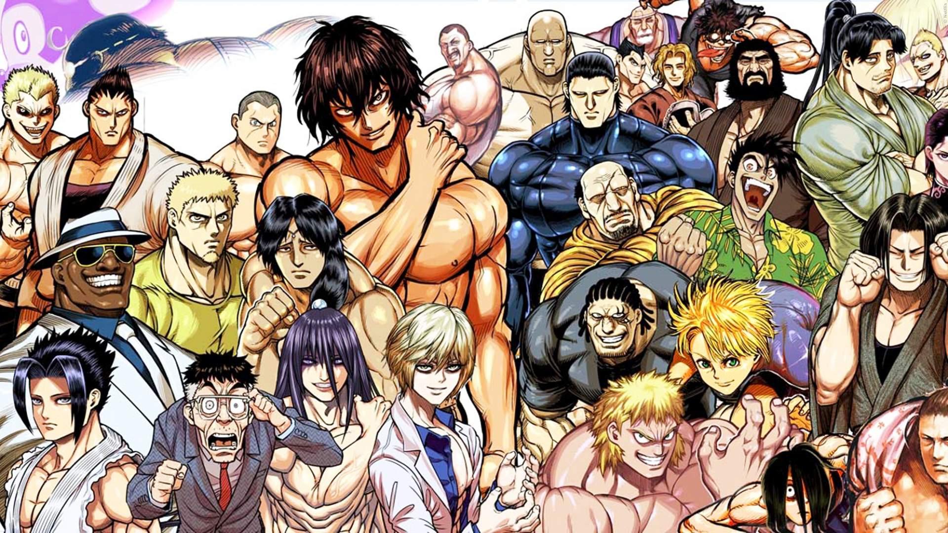 KENGAN ASHURA: 1. Trailer zur neuen Anime-Serie bei Netflix