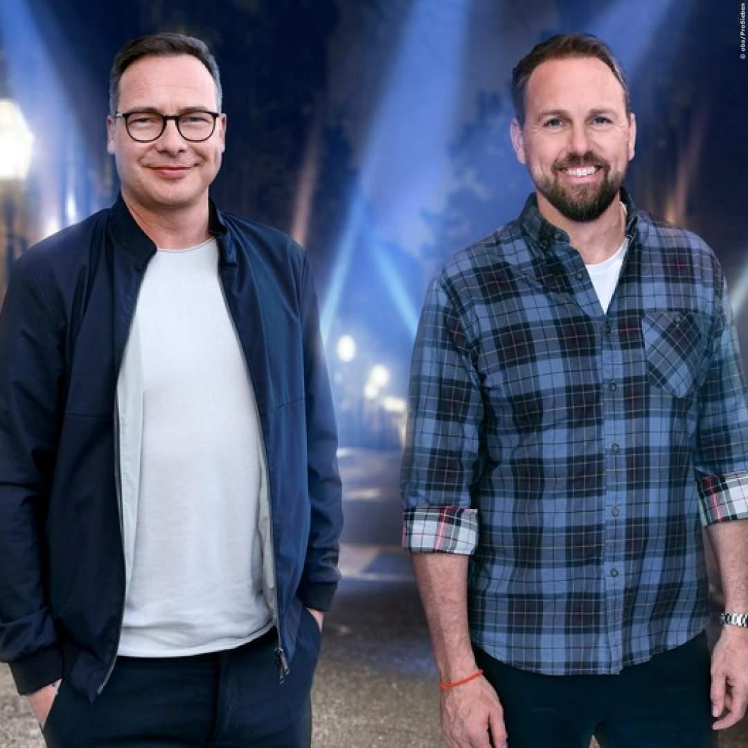 NEUE SHOW auf ProSieben: Matthias Opdenhövel und Steven Gätjen zu Besuch