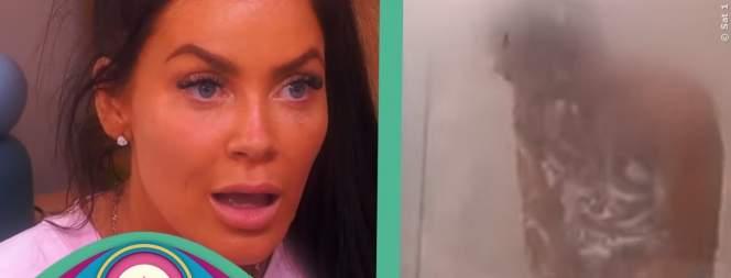 Big Brother: Heißer Dusch-Flirt bei Janine und Tobi