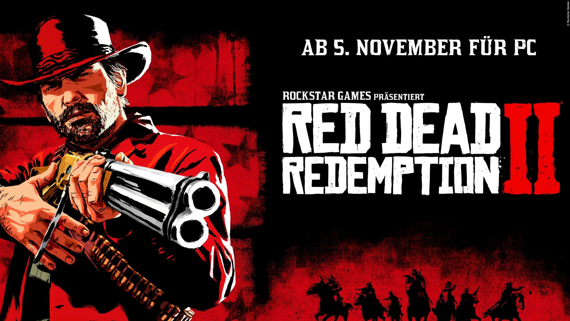 Red Dead Redemption 2: Trailer zur PC-Version ab 18 in 4K und mit 60 FPS