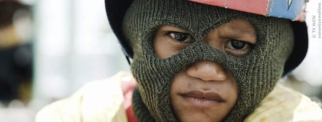 Sila ist ein Kinderjockey in Indonesien