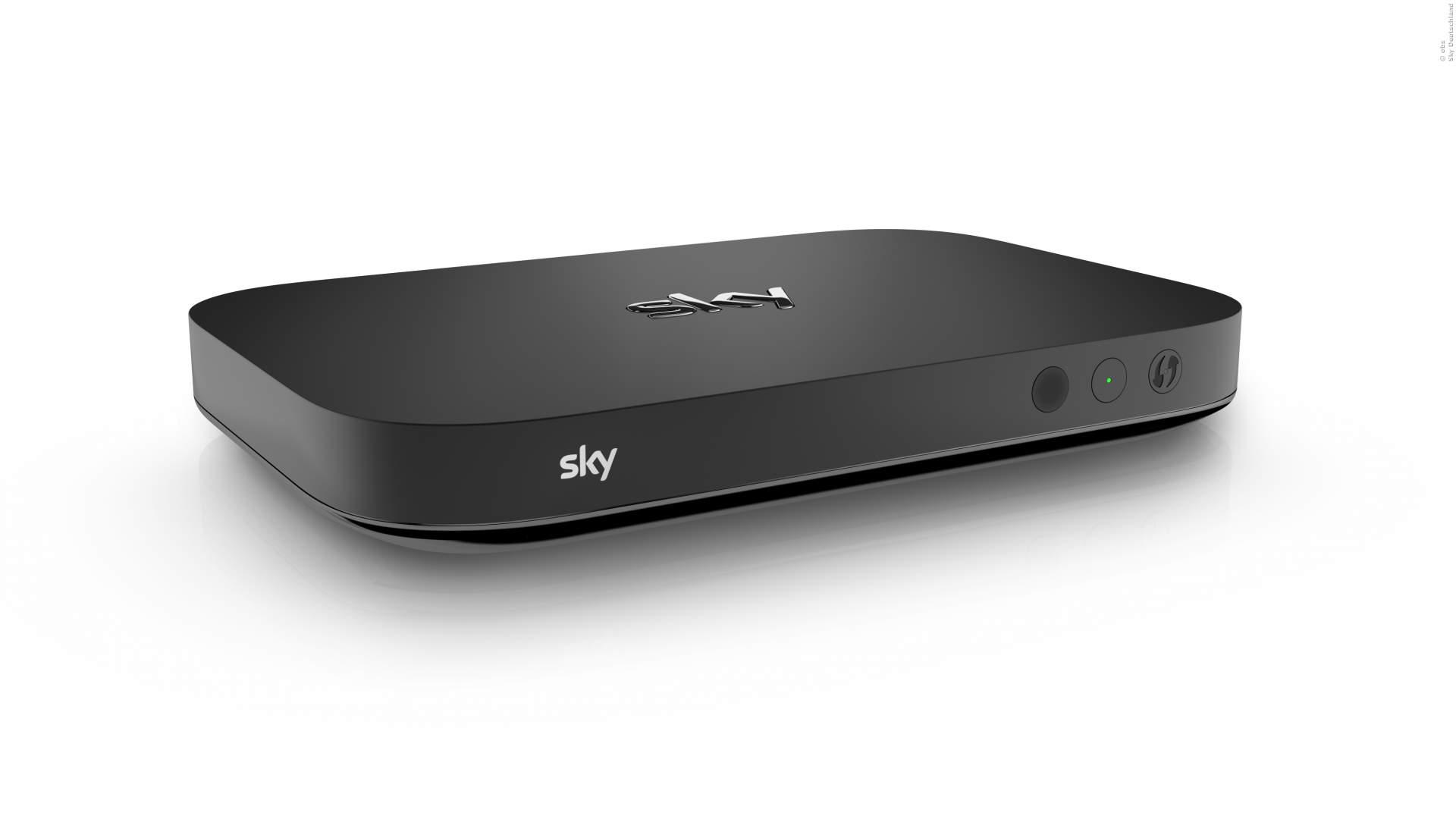 Sky Q mit neuen Apps und Mini-Receiver