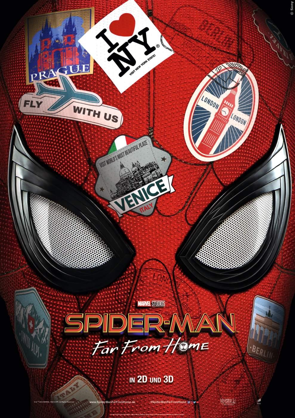 Das Spider-Man Plakat