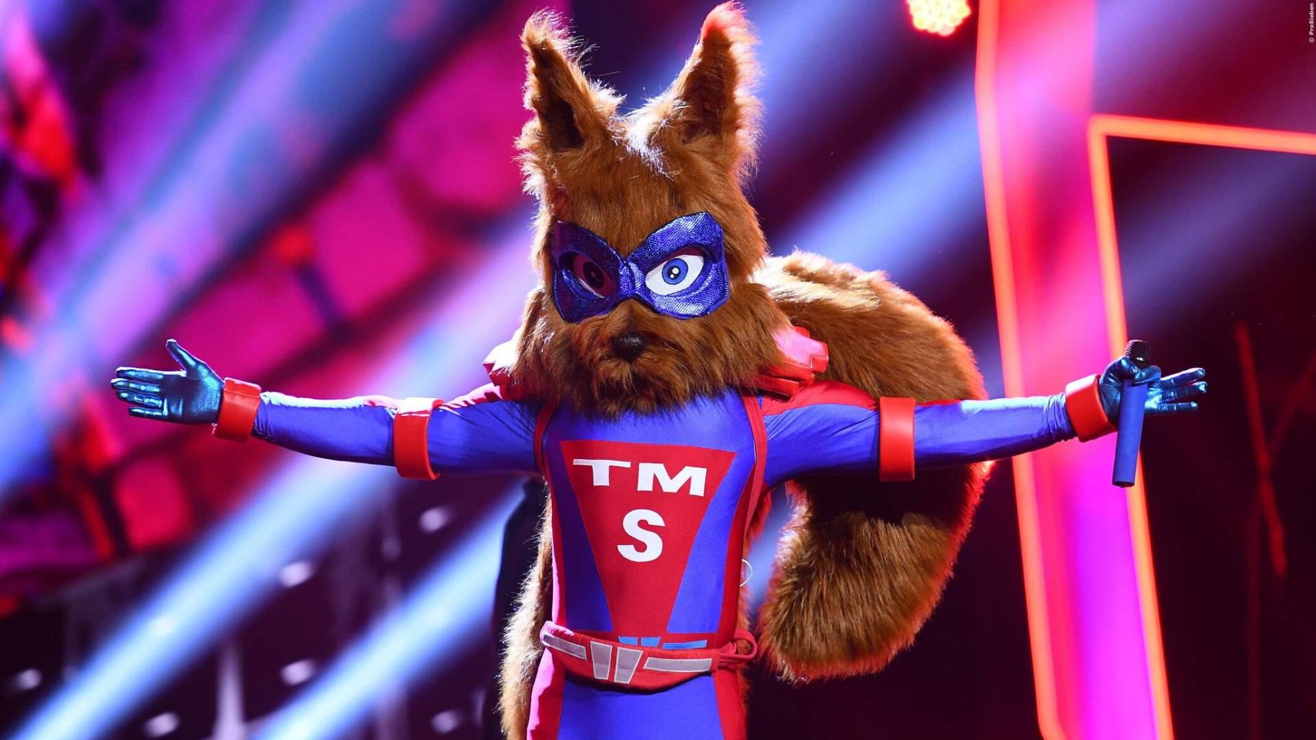 Masked Singer Eichhörnchen