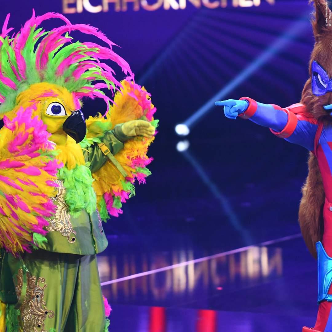 THE MASKED SINGER: Die Enthüllung des Kakadu im Video - Gänsehaut-Moment in der ProSieben-Show