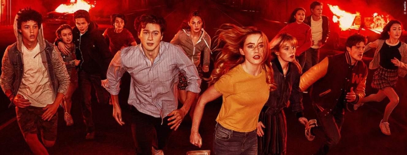 Die Teenager aus der Serie The Society
